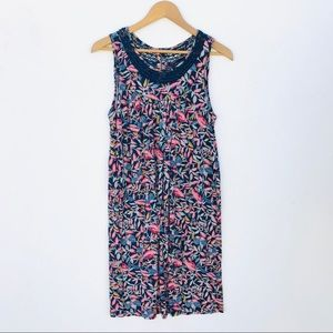 Lucky Brand Relaxed Midi Floral Dress